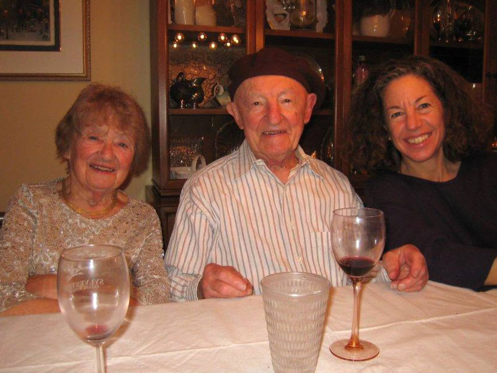 Photo of Beba, Lee, and Mary