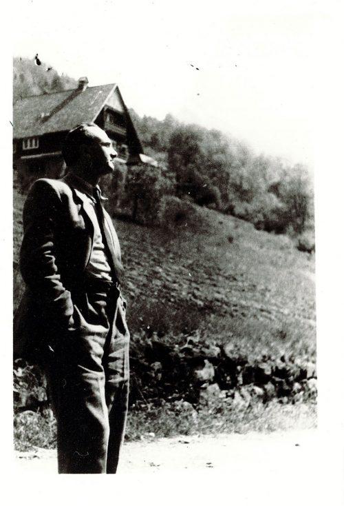 Nathan Rappaport in Zakopane mountains