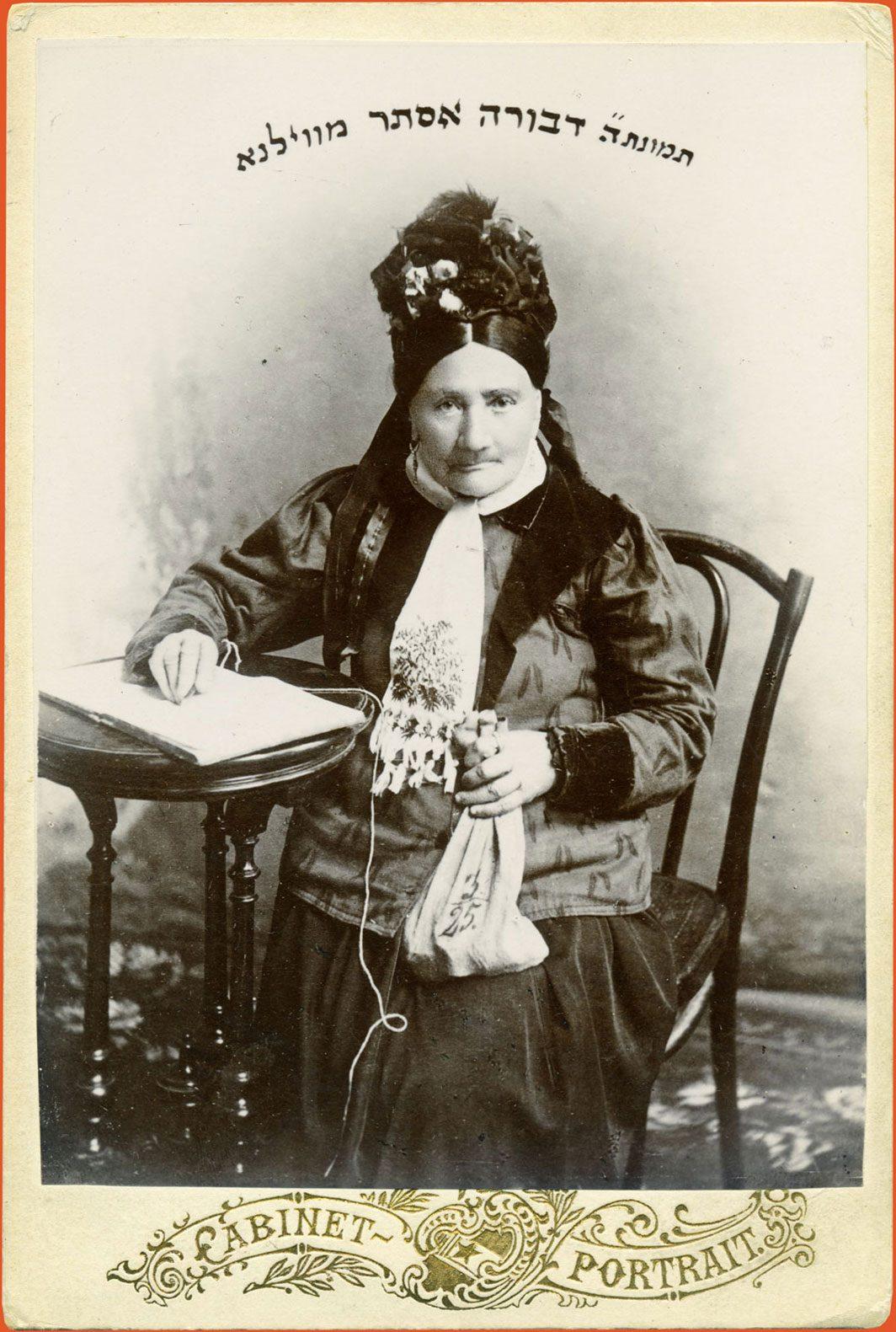 Studio portrait of a philanthropist at her desk