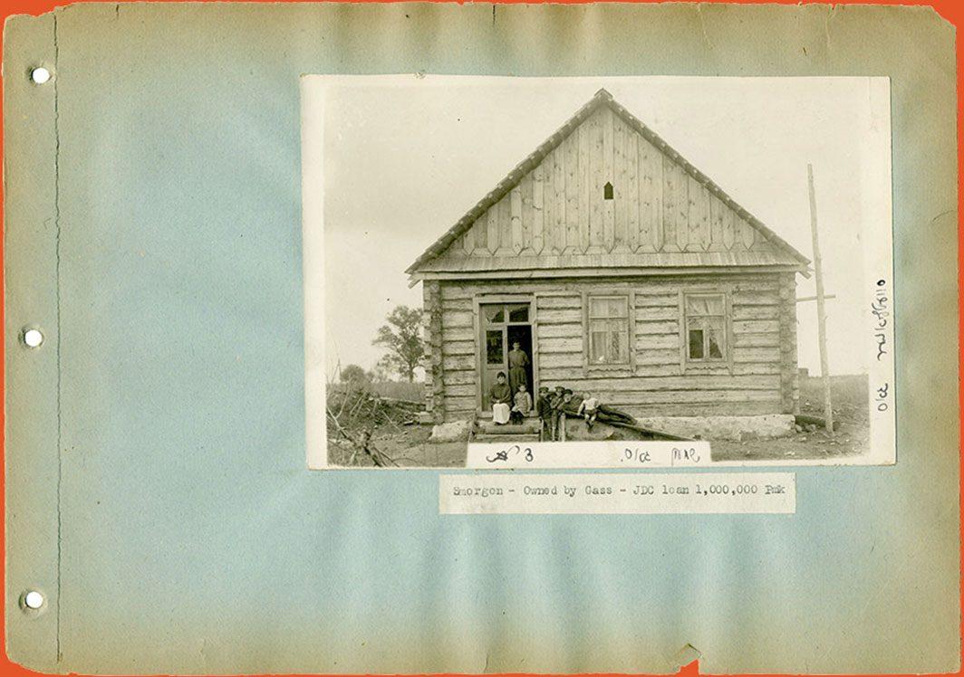 A home rebuilt after WWI.