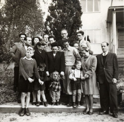Group Photograph of Jewish Refugees