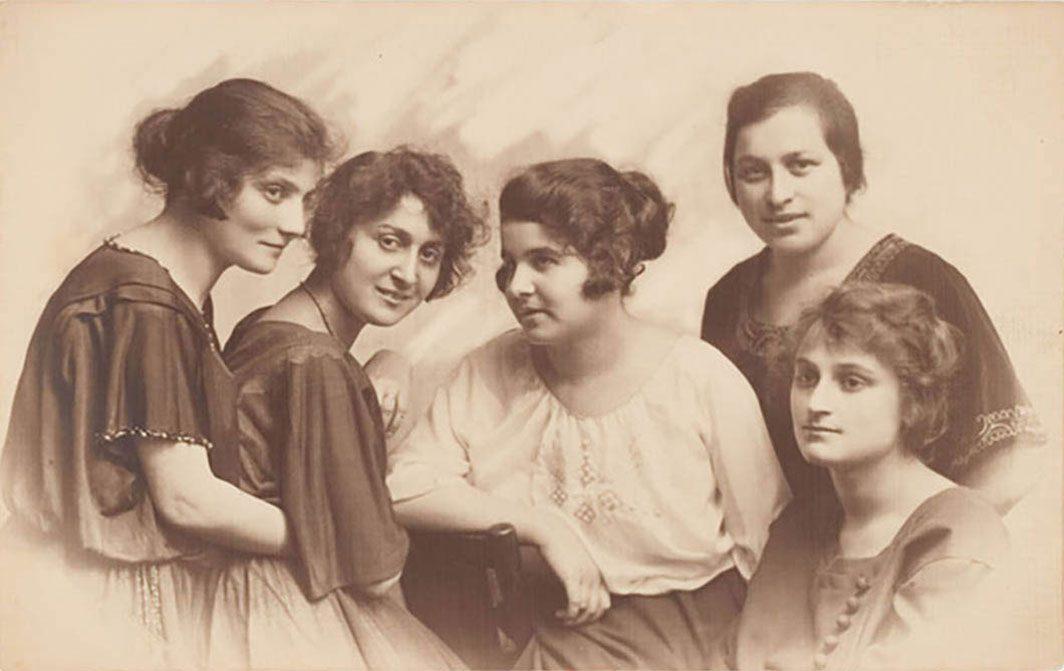 Portrait of Jewish women intellectuals