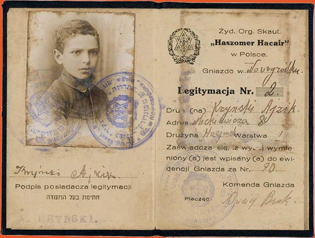 Membership card including photograph