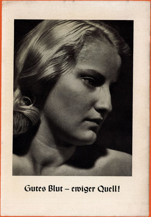 Front page of NAZI propaganda book