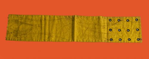 yellow arm band