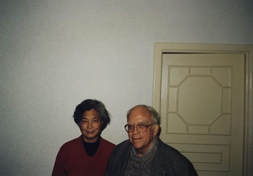 Israel Epstein and his wife.