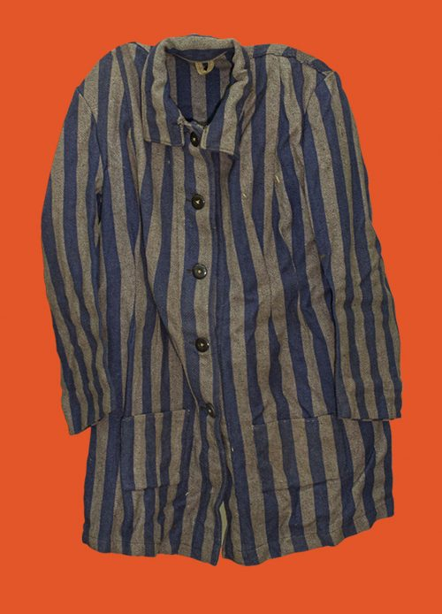 Shirt/Jacket of concentration camp uniform