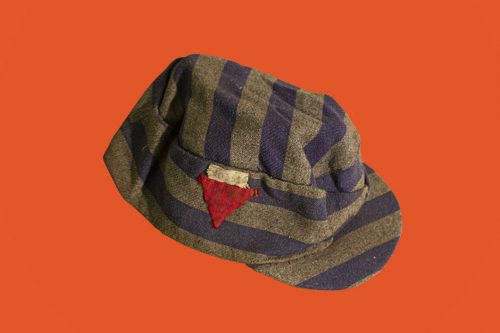 concentration camp uniform hat