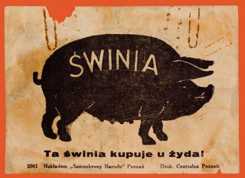 Antisemitic leaflet
