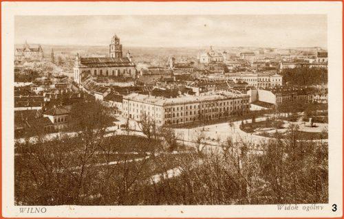 A postcard of Vilna