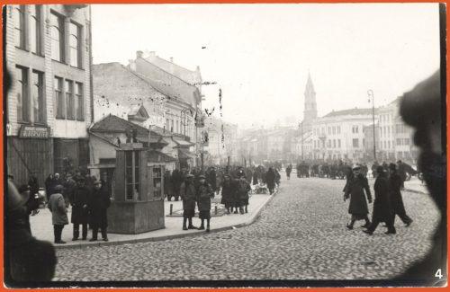 A busy street in Vilna
