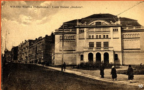 Photograph of Reduta Theater
